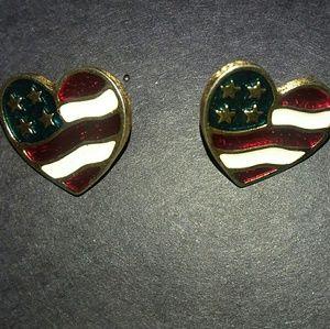 1980s Avon earrings